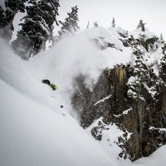 Giffin hits the mark at Mt. Baker.