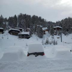 La Plagne, Francia - Marzo 2013