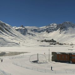 Magnifique journe sur Tignes...