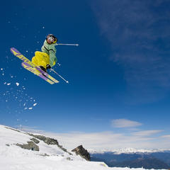 Skiing in summer on Horstman Glacier on Blackcomb Mountain - ©Mike Crane/Tourism Whistler