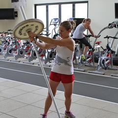 Postseason Ski Exercises with Heather McPhie: Barbell Rotations