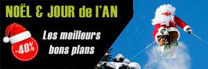 Bons plans et promotions séjour au ski pour Noël