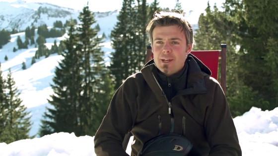 Ski avec Antoine Dénériaz