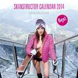 Female Ski Instructor Calendar 2014 - © Hubertus Hohenlohe/www.skiinstructors.at