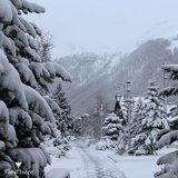 Neuschnee in den Alpen (21./22.11.2015) - © Facebook Val d´Isère