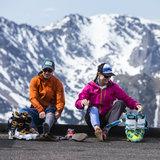 Backcountry Skiing in Rocky Mountain National Park - © Liam Doran