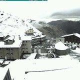 Prima neve di Settembre 2016 - © Webcam Passo Stelvio