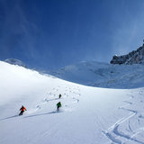 Freeride v Zermatte - © Skiinfo.de/Sebastian Lindemeyer