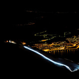 Narvik bei Nacht: Skifahren mit Stirnlampen am Polarkreis - © Jan-Arne Pettersen