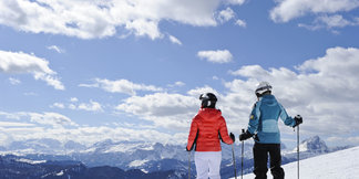 Five of the best ski resorts for beginners ©TVB Kronplatz
