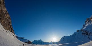 Skitouren mit GIpfel: Wildstrubel (Berner Alpen) ©Iris Kürschner