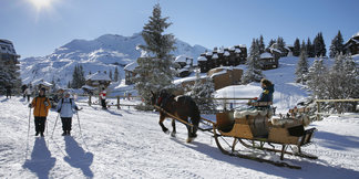 Les Portes du Soleil: A network of traditional villages ©Gilles Galas / Avoriaz Tourisme
