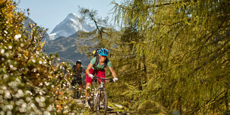 Mountainbiker in Kaprun - ©Salzburger Land Tourismus