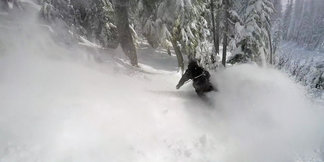 Storms Deliver Feet to West Coast Ski Resorts ©Pierce Hodges/Mt. Hood Meadows