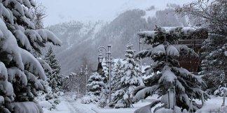 Neve sulle Alpi - 21/22 Novembre 2015 - © Facebook Val d´Isère