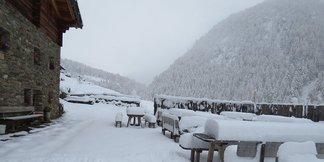 Dove andare a sciare a novembre? ©Rableid Alm- Malga Rableid Facebook