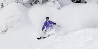 Infographic: Deep Pow in the West Makes for Stellar Holiday Skiing ©Whitefish Mountain Resort