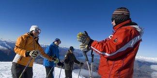 Skiën of snowboarden voor beginners ©Treble Cone Images