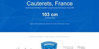 Meter snehu pre víťaza! ©Skiinfo