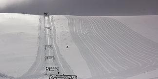 Ti meter snø på Fonna ©Ole Vidar Søviknes