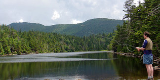 Hike to Vermont's Highest-Elevation Trout Pond ©Carrie Kasper