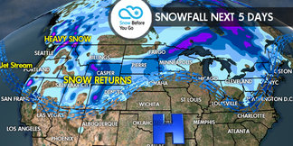 11.17 Snow Before You Go: Winter Here at Last! ©Meteorologist Chris Tomer