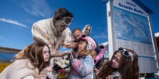 Terreur et épouvante au programme d'Halloween in Tignes - ©Greg Mistral