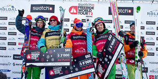 Scandinavians Win at Norway's First Ever Swatch Freeride World Tour Stop