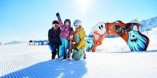 Stubai - rodinná lyžovačka a zábava patria k sebe ©Stubaier Gletscher/A. Schönherr
