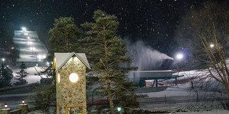 Snowmaking Underway at Holiday Valley ©Jane Eshbaugh