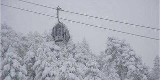 Record Snowfall At Baqueira Beret