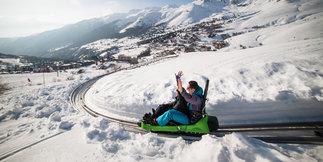 A Saint François, on skie, mais pas que... ©Alban Pernet / OT de SLF
