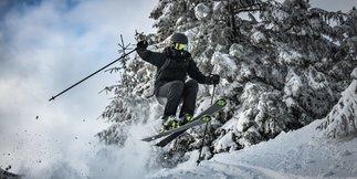 Prašanová lyžovačka na Martinských holích - © Martin Mesiarik