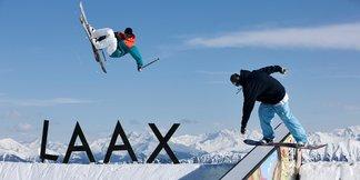 The world's first Porsche ski lift opens in Laax ©Graubunden