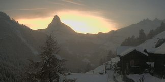 Powder alert in Austria: October snow storm moves in ©Zermatt