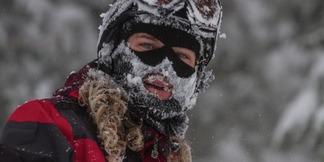 Hoe je je huid beschermt tegen extreme kou en wind ©Liam Doran