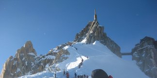 The world's biggest lift-served verticals ©Chamonix Tourist Office