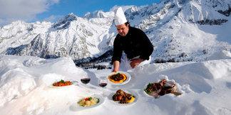 Quand la gastronomie s'invite dans les restos d'altitude ©adamelloski.com