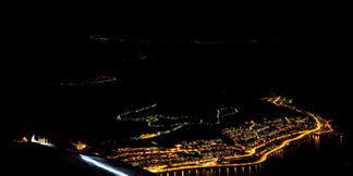 Bildeserie: Narvik by Night - hodelyktkjøring i Narvikfjellet - © Jan-Arne Pettersen