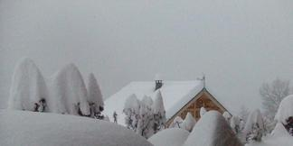 Påsken er reddet. Mere end 1 meter sne på under 24 timer!