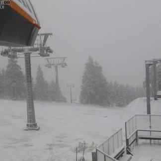 Konečně sníh! 21.-22.11.2015