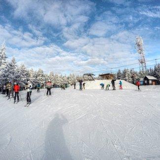 Jak se lyžuje na českých horách v roce 2016 - © facebook Říčky