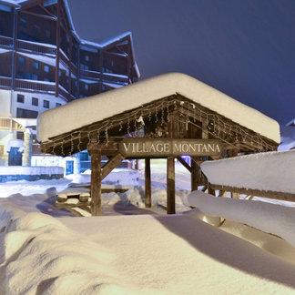 Un 11 novembre sous la neige - © Facebook Val Thorens