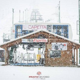 Neve fresca - Le ultime nevicate di Ottobre 2016 - © Sergio Bolla - Prato Nevoso Ski Facebook