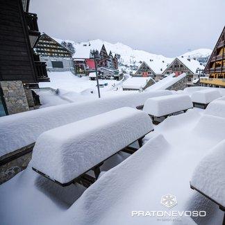 Alpy pod śniegiem - listopad 2019 - © Prato Nevoso Ski Facebook