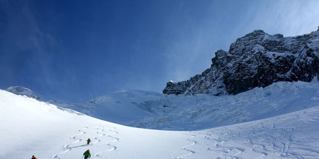 Offpist i Zermatt - © Skiinfo.de/Sebastian Lindemeyer