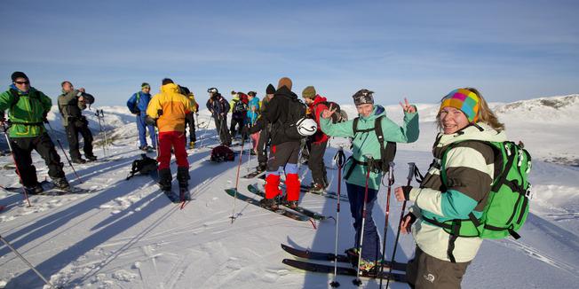 Bildeserie: Splitboardfest i Hemsedal - © Are Tallak