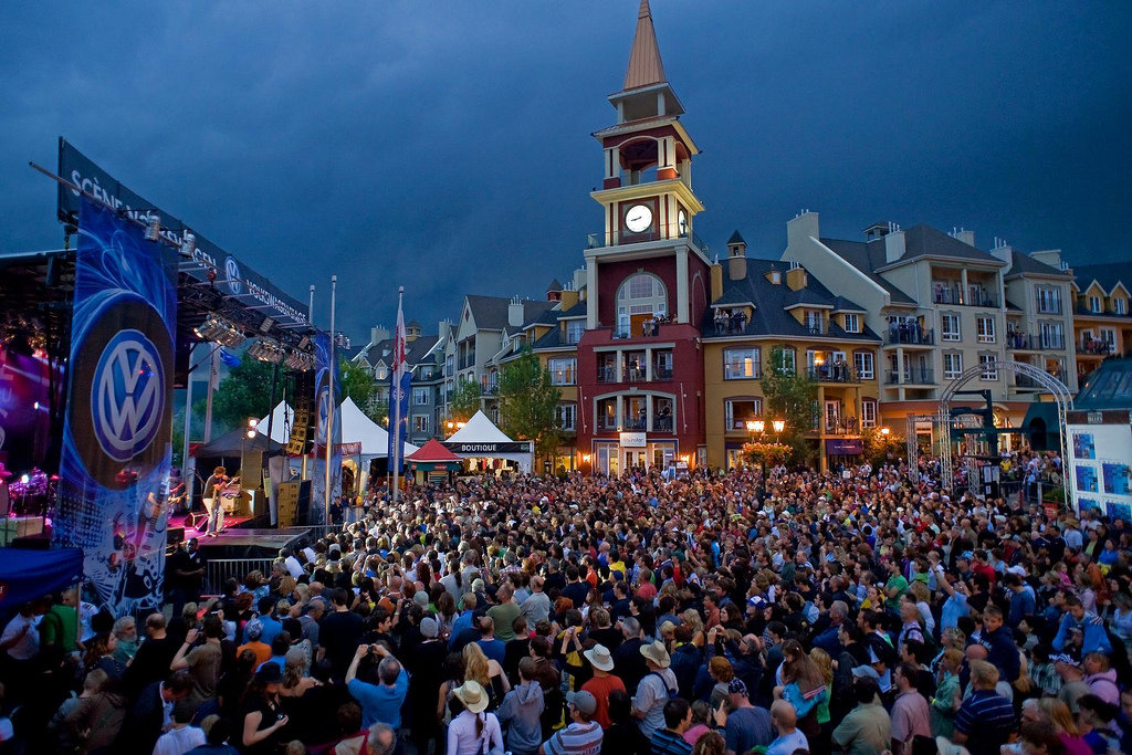 Quebec's Tremblant becomes the Blues Capital of the world for one week in July thanks to the Tremblant International Blues Festival.  - ©Mont Tremblant