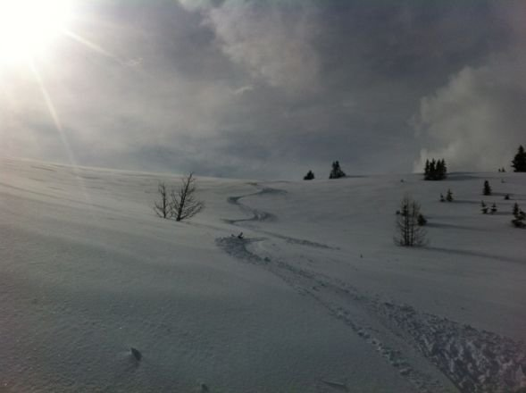 May powder at Sunshine. Conditions firm in the morning and amazing by noon!
