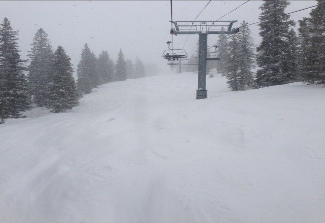 great powder day and even better bluebird tomorrow